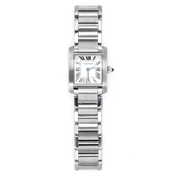 Cartier Quartz Steel Watch with Cream Dial La Mine d'Or Moncton, NB
