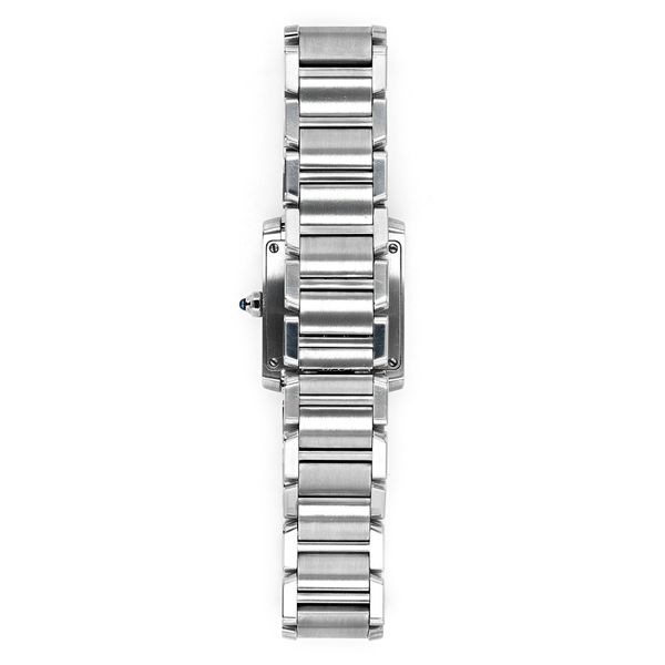 Cartier Quartz Steel Watch with Cream Dial Image 2 La Mine d'Or Moncton, NB