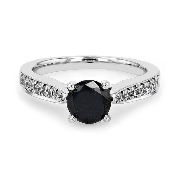 1.39tw UTwo Trendy Black Diamond Engagement Ring La Mine d'Or Moncton, NB