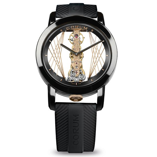 Corum Golden Bridge Round 43 Art Deco La Mine d'Or Moncton, NB