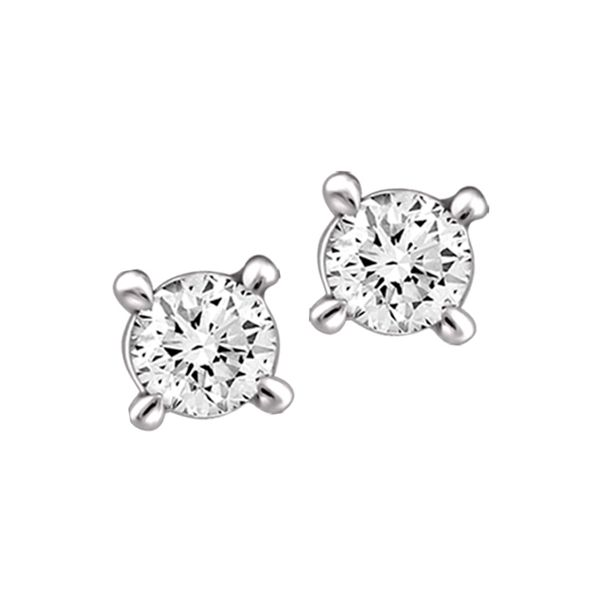0.33tw Canadian Round Brilliant Cut Diamond Stud Earrings La Mine d'Or Moncton, NB