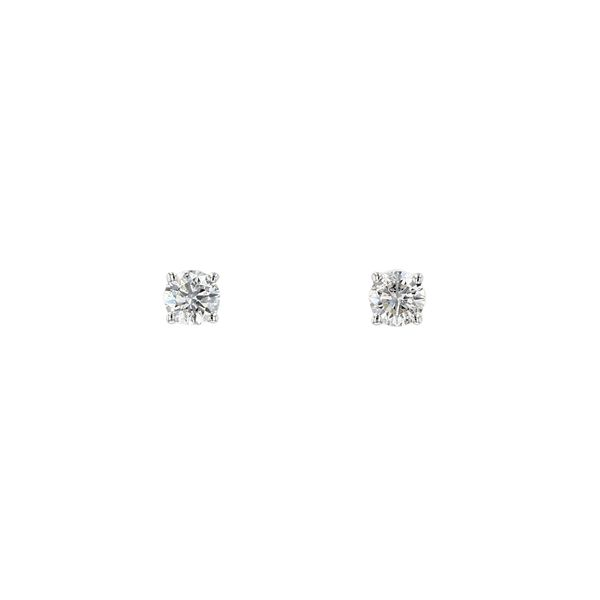 0.25tw Lumina Round Diamond Stud Earrings La Mine d Or Moncton, NB