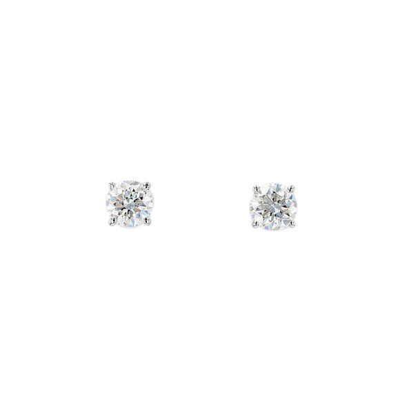 0.50ct Lumina Round Diamond Stud Earrings La Mine d Or Moncton, NB