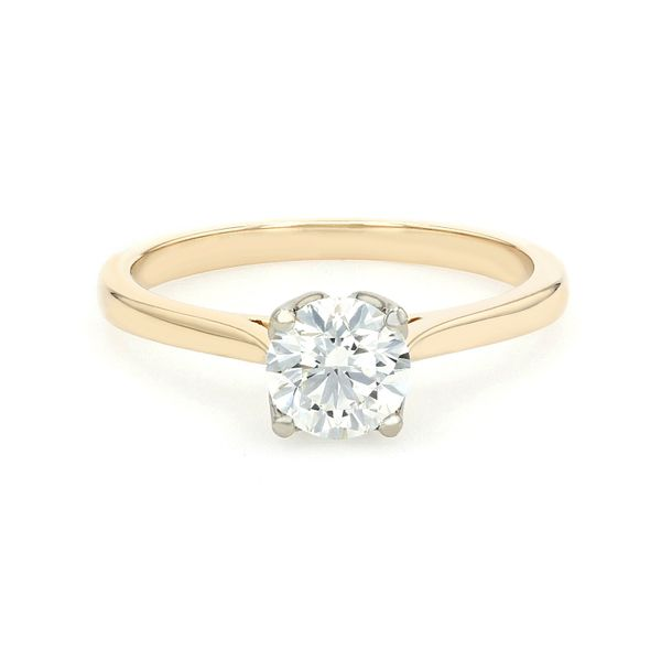 0.72ct Forevermark Round Brilliant Diamond Solitaire Engagement Ring La Mine d'Or Moncton, NB