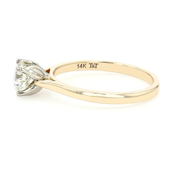 0.72ct Forevermark Round Brilliant Diamond Solitaire Engagement Ring Image 2 La Mine d'Or Moncton, NB