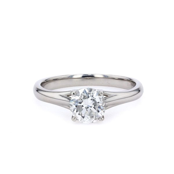 1.00ct Lumina Round Brilliant Diamond Solitaire Engagement Ring La Mine d'Or Moncton, NB