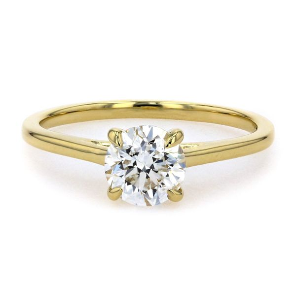 1.01ct Lumina Round Brilliant Diamond Solitaire Engagement Ring La Mine d'Or Moncton, NB