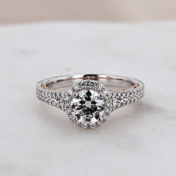 1.39tw Prive Round Brilliant Diamond Engagement Ring Image 3 La Mine d Or Moncton, NB