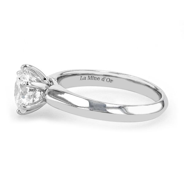 1.52ct Prive Round Brilliant Canadian Diamond Solitaire Engagement Ring Image 2 La Mine d Or Moncton, NB