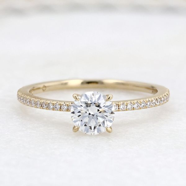 0.84tw Forevermark Round Diamond Solitaire Engagement Ring Image 3 La Mine d Or Moncton, NB