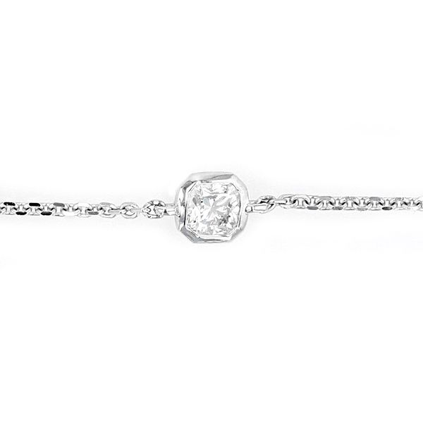 0.19tw Forevermark Black Label Square Bezel Set Diamond Bracelet Image 2 La Mine d'Or Moncton, NB