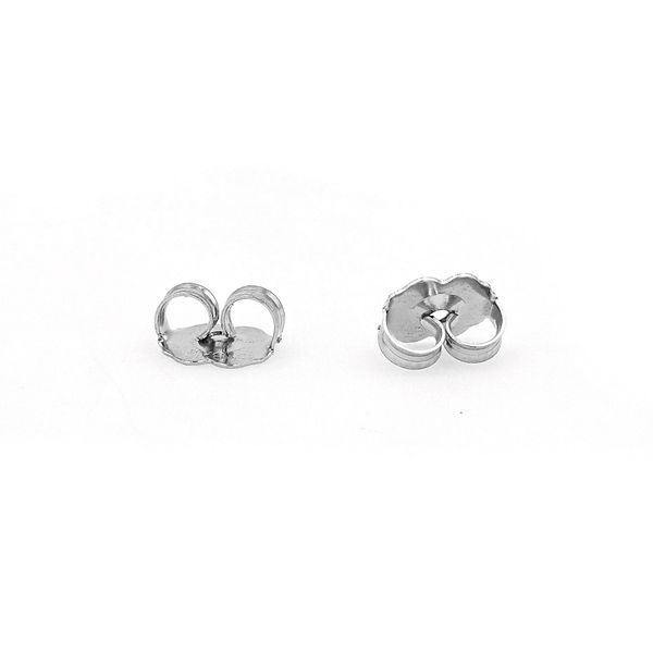 0.51tw Forevermark Black Label Square Stud Earrings Image 2 La Mine d'Or Moncton, NB