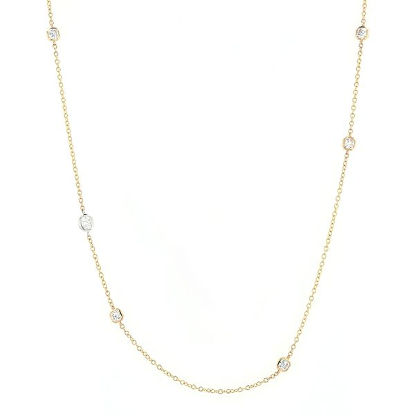 1.33tw Forevermark Black Label Diamond Necklace 18kt Yellow Gold La Mine d Or Moncton, NB