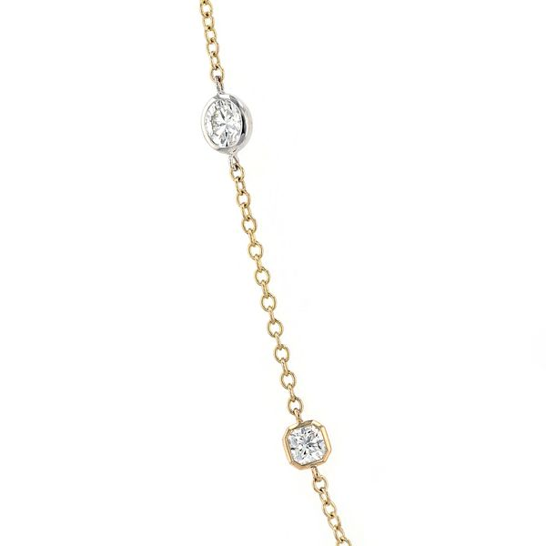 1.33tw Forevermark Black Label Diamond Necklace 18kt Yellow Gold Image 2 La Mine d Or Moncton, NB