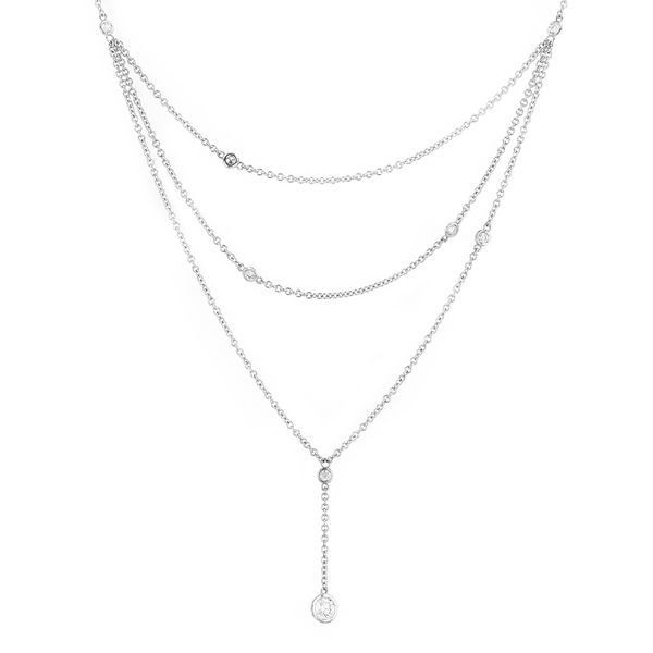 0.54tw Forevermark Diamond Layered Necklace La Mine d Or Moncton, NB