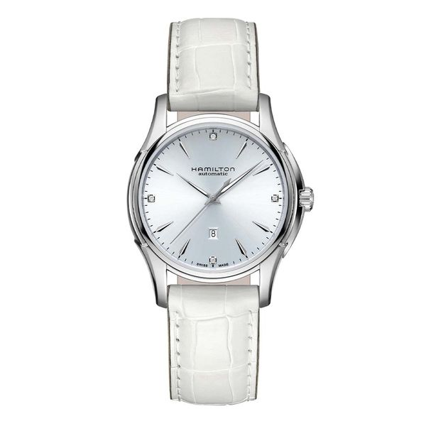 Hamilton Jazzmaster Lady Automatic Watch with Round Blue Dial La Mine d'Or Moncton, NB