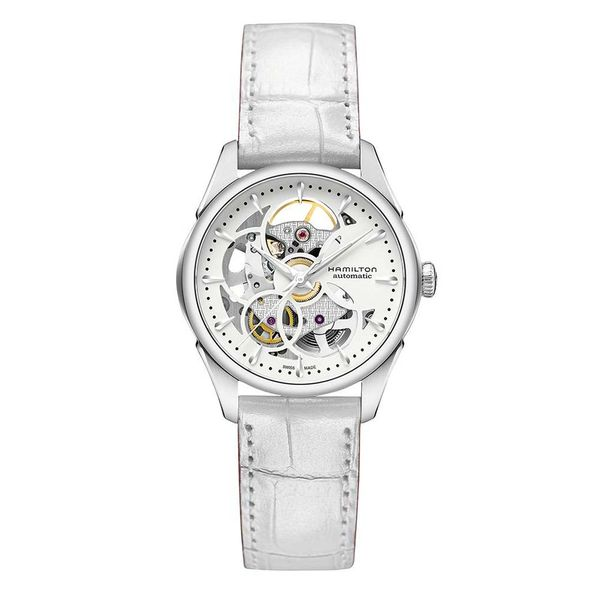 Hamilton Jazzmaster Skeleton Automatic with Rond White Dial La Mine d'Or Moncton, NB