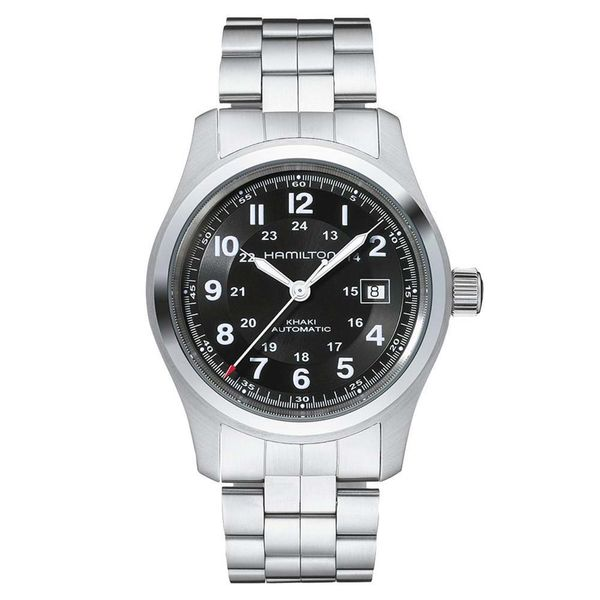 Hamilton Stainless Khaki Field Automatic with Round Black Dial La Mine d Or Moncton, NB