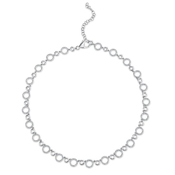1.36tw Diamond Circle Necklace La Mine d'Or Moncton, NB