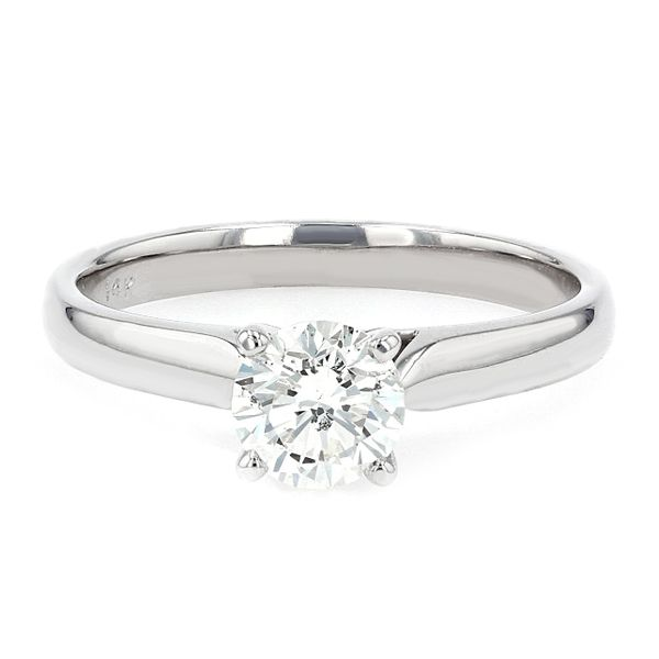 0.72ct Lumina Round Brilliant Diamond Solitaire Engagement Ring La Mine d'Or Moncton, NB