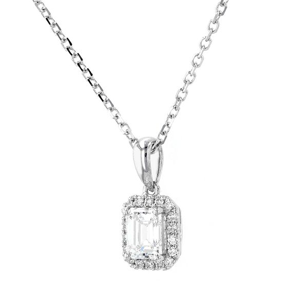 "0.58tw Prive Diamond Pendant, 18"" Cable Chain Image 2 La Mine d'Or Moncton, NB"
