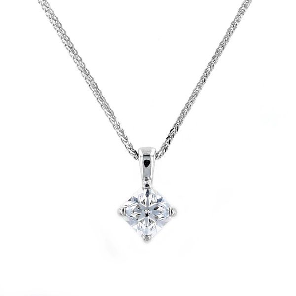 0.75ct Forevermark Diamond Solitaire Pendant La Mine d'Or Moncton, NB