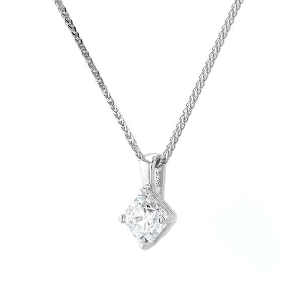0.75ct Forevermark Diamond Solitaire Pendant Image 2 La Mine d'Or Moncton, NB