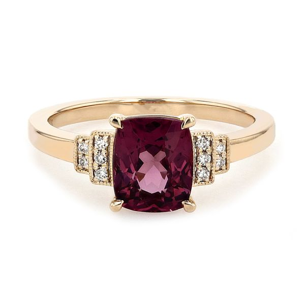 1.93ct Cushion Cut Spinel & Diamond Ring La Mine d Or Moncton, NB