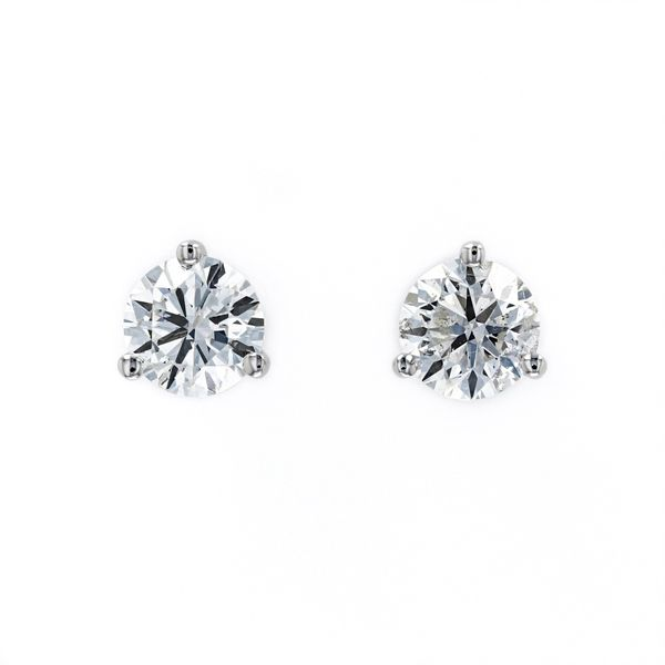 2.00tw Prive Solitaire Diamond Earrings in Martini Settings La Mine d Or Moncton, NB
