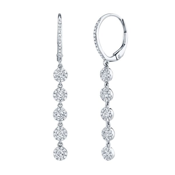 0.99tw Diamond Drop Earrings La Mine d'Or Moncton, NB