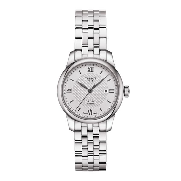 Tissot Stainless Le Locle Automatic Watch with Round Silver Dial La Mine d'Or Moncton, NB
