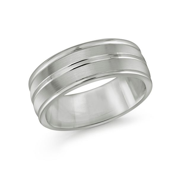Tungsten Wedding Band 8mm Wide, Size 10 La Mine d'Or Moncton, NB