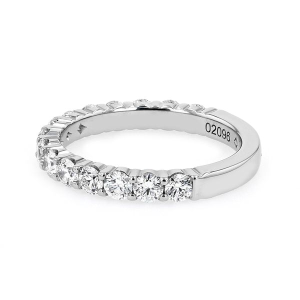 1.25tw Forevermark Diamonds in Double Shared Prong Platinum Band Image 2 La Mine d Or Moncton, NB