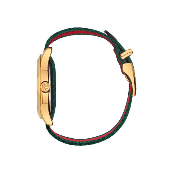Gucci G-Timeless 38mm Quartz Le Marche Des Merveilles Red and Green Image 3 La Mine d Or Moncton, NB