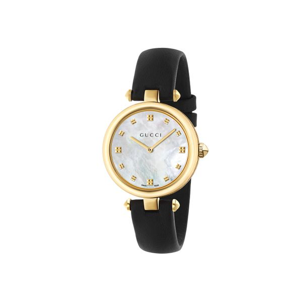 Gucci Diamantissima Goldtone Watch with MOP Dial La Mine d'Or Moncton, NB