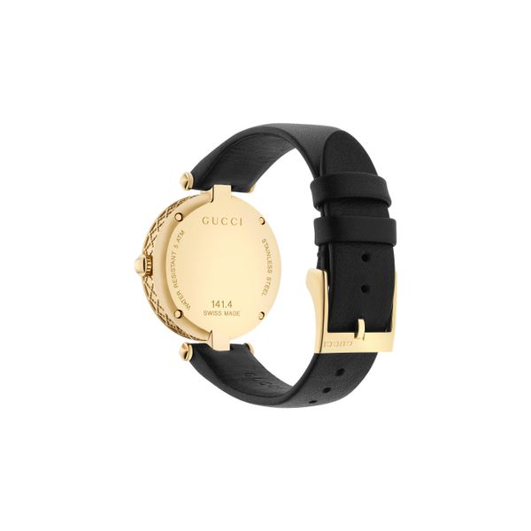 Gucci Diamantissima Goldtone Watch with MOP Dial Image 2 La Mine d'Or Moncton, NB