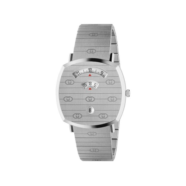 Gucci Grip GG 38mm Stainless Steel Watch La Mine d'Or Moncton, NB
