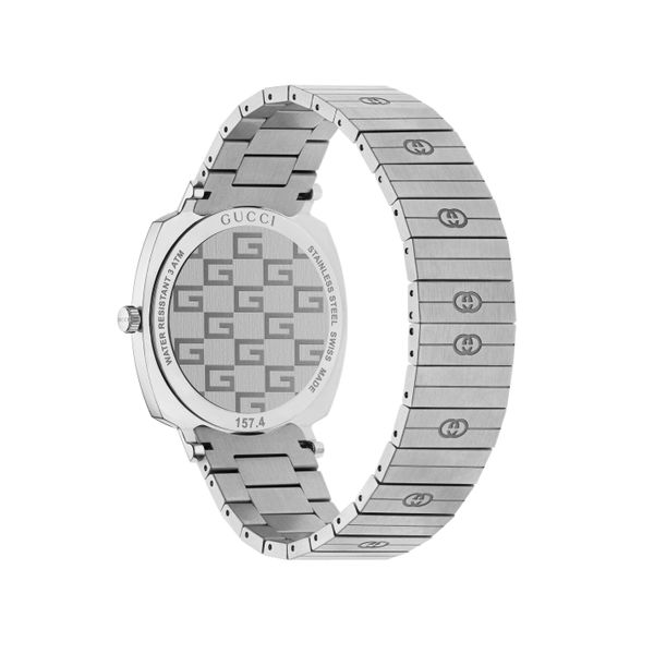 Gucci Grip GG 38mm Stainless Steel Watch Image 2 La Mine d Or Moncton, NB