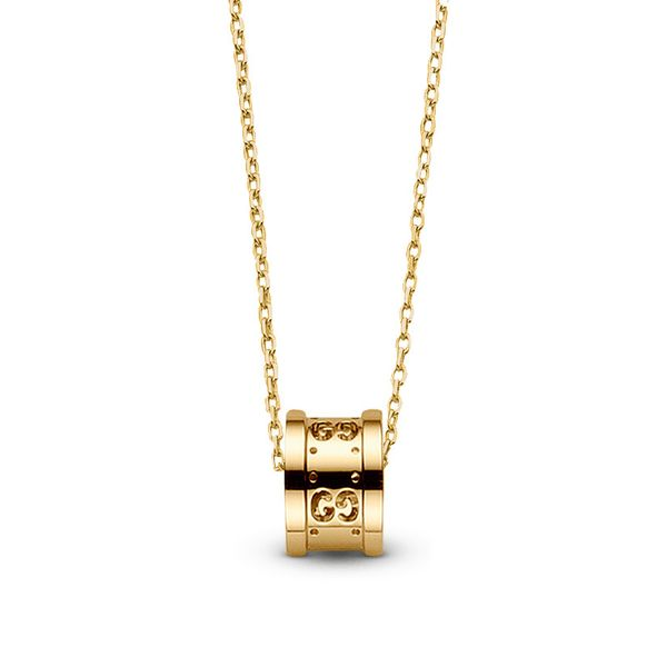 Gucci Icon Twirl 7mm 18kt Yellow Gold Pendant Necklace La Mine d Or Moncton, NB