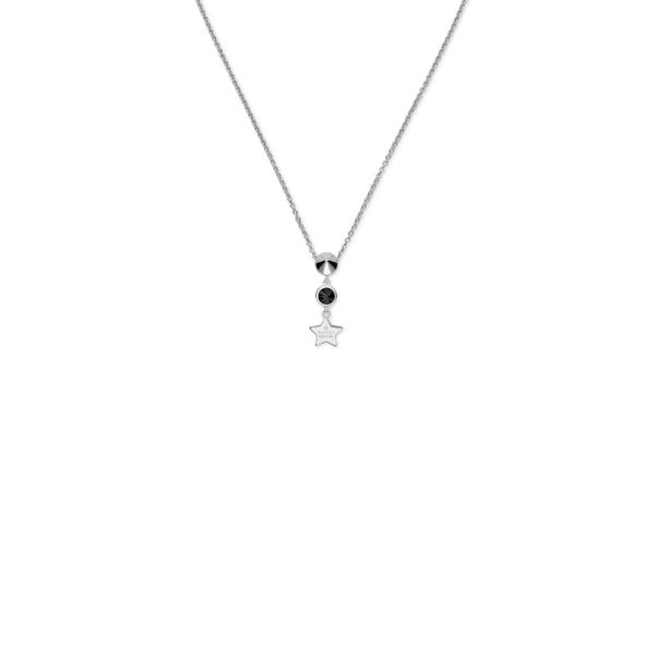 Gucci Trademark Necklace with Black Synthetic Spinel La Mine d'Or Moncton, NB
