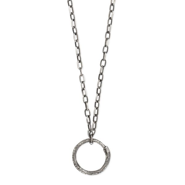 Gucci Ouroboros Necklace 90cm=35 inch with Aged Snake Pendant La Mine d'Or Moncton, NB