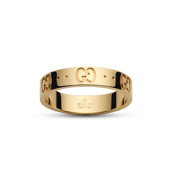 Gucci Icon Thin Band in 18kt Yellow Gold La Mine d'Or Moncton, NB
