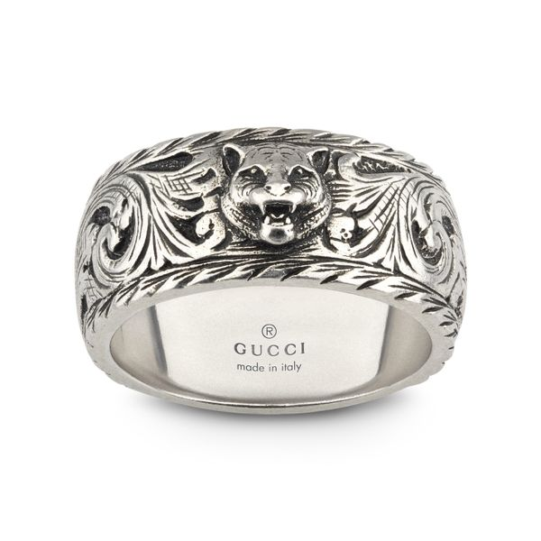 Gucci 10mm Gatto Ring in Sterling Silver La Mine d'Or Moncton, NB