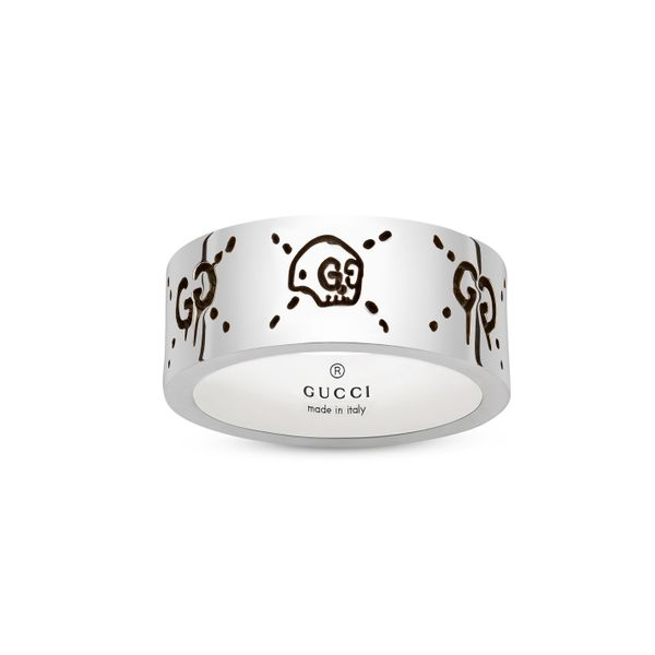 Gucci Ghost 9mm Silver Ring La Mine d Or Moncton, NB