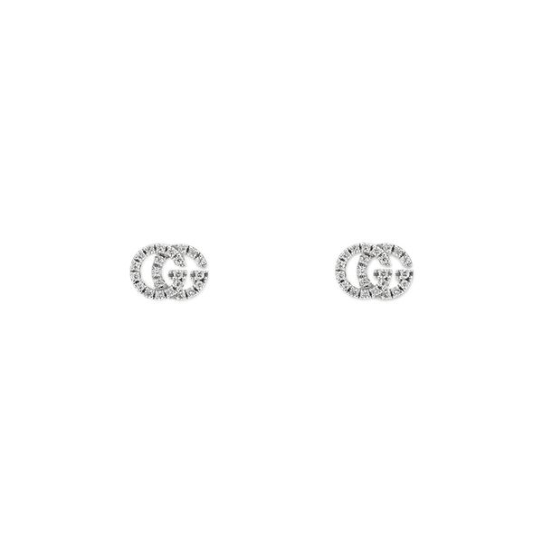 0.105tw Diamond Running G Gucci Pave Stud Earrings La Mine d'Or Moncton, NB