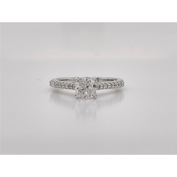 Cushion Cut Diamond Engagement Ring Layne's Jewelry Gonzales, LA