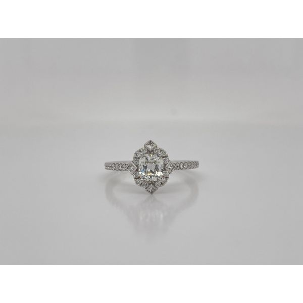 Antique Style Cushion Diamond Engagement Ring Layne's Jewelry Gonzales, LA