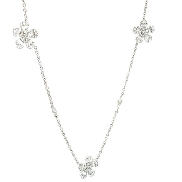 Diamond Necklace Image 2 Lake Oswego Jewelers Lake Oswego, OR