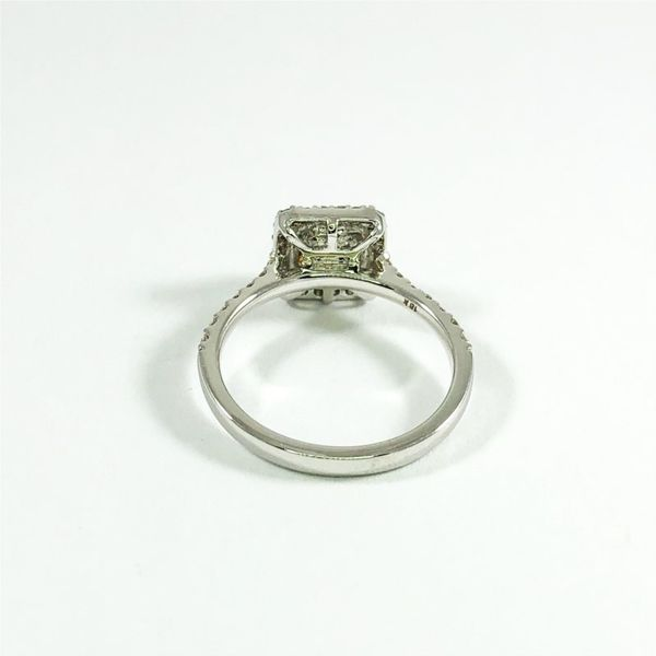 .65ct Radiant Cut Fancy Yellow Diamond Engagement Ring Image 3 Lumina Gem Wilmington, NC