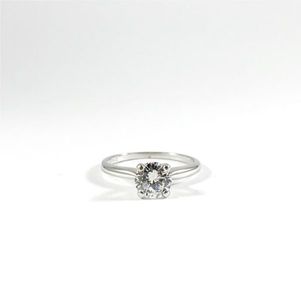 Round Solitaire Engagement Rind - E Color VS2 Clarity Lumina Gem Wilmington, NC
